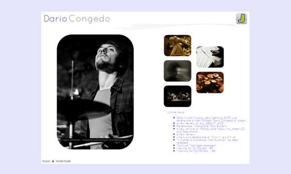 Dario Congedo | Official Web Site